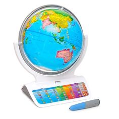 Discover the amazing world around us with Smart Globe Infinity! Packed with fun activities, this high-tech educational toy wows you with fascinating knowledge and dozens of interactive games and challenges!