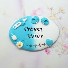 badge puéricultrice ,infirmière, aide soignante : Pins, badges par grain-de-delice