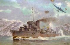 Destructor Błyskawica 1937, Polonia: ~ BFD