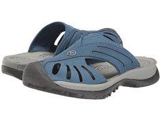 Keen Rose Slide poly indial teal/grey, black/grey 1.25h sz7.5 80.00