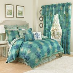 Waverly® Marine Life 4-pc. Reversible Comforter Set & Accessories  found at @JCPenney