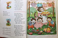 Mother Goose Rhymes, illustrated by Margot Austin.  From My Brimful Book, Platt & Munk, 1960.
