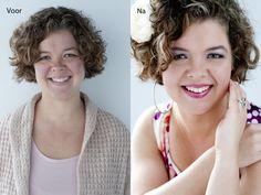 Glamourfotografie glamour photography before & after. Het leukste uitje voor vrouwen! www.willemhoogendoorn.nl ( Sue Bryce inspired )