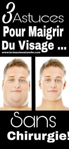 3 astuces pour maigrir du visage ... sans chirurgie! #maigrir #visage