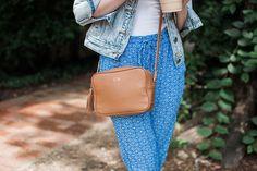 GiGi New York   Poor Little It Girl Fashion Blog   Tan Madison Crossbody