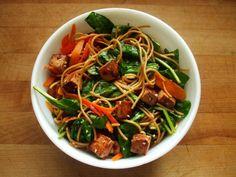 Spicy Tofu Noodle Salad