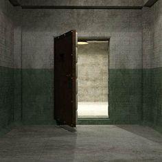 Eerie Asylum Cell (Poser, Obj & VUE)