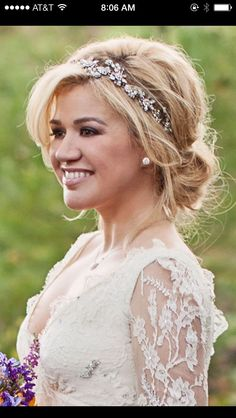 romantic bridal updos - Google Search
