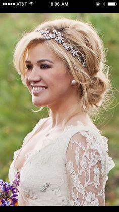 romantic bridal updos - Google Search