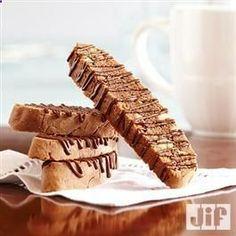 Mocha Cappuccino Butterscotch #Biscotti from Jif .