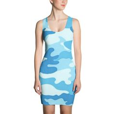 BRAYOX - Blue Camo Dress (only 1,000 available)