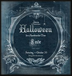 Halloween Party invite idea: chalkboard style using this template: http://graphicsfairy.blogspot.com/2009/07/amazing-antique-sheet-music-graphic.html