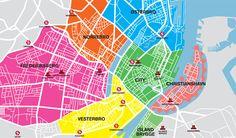 Neighborhoods in Copenhagen