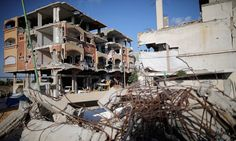 A bombed out building in Gaza. Israel's report presents the IDF's operation as an 'imperative necessity' inresponse to rocket fire from Gaza and the threat of Hamas.