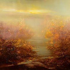 "Saatchi Art Artist: Maurice Sapiro; Oil 2014 Painting ""The Golden Hour"""