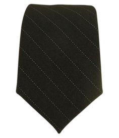 - Wool Suiting - Investor Pinstripe (Skinny) Ties