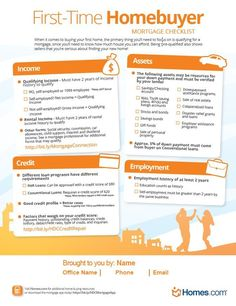 Mortgage Checklist: Help First-Time Buyers Understand the Mortgage Process!