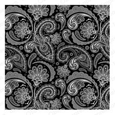 Cover-a-Card Lg. Paisley