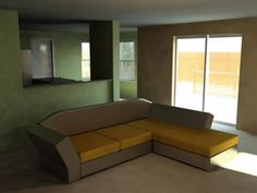 Sectional L-shaped