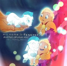 Baby Pegasus is my favorite of all the Disney characters :)