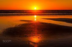 Sunset at Oceanside - November 30, 2016 - Oceanside      November 30, 2016        ©2016 Rich Cruse \ CrusePhoto.com