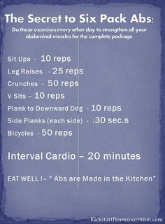6-pack ab workout
