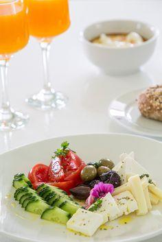 Simple Breakfast in Greece