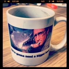 Day #214 - drinking from @willhowells mug in honour of his gig tonight