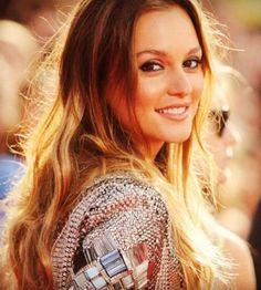 Leighton Meester Hairstyles: Sunny Hair