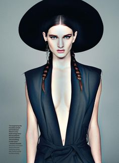 """Northern Lights (Elle Canada) """"I want her hat"""""""