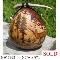 Northwest Gourd Gallery - Welcome to Larilyn Gourd Art