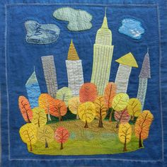 Autumn in New York by Kristin Shields.  Book:  Rules of Civility by Amor Towles.