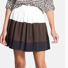 NWT Kate Spade Colorblock Skirt Coreen NWT Kate Spade Colorblock Skirt Size 8  Item Location Bin D3 kate spade Skirts A-Line or Full