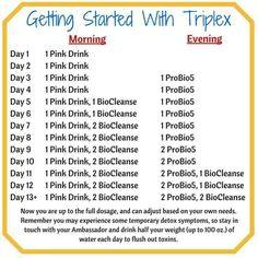 Plexus | Getting Started With Triplex find more at www.shopmyplexus.com/susanperaza (Ambassador ID# 1792092)