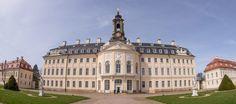 Jagdschloss Hubertusburg in Wermsdorf, Panorama