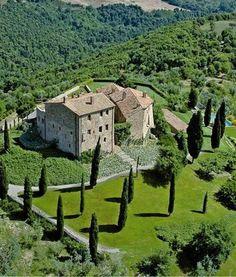 Castello di Vicarello, Cinigiano, Grosseto province, Tuscany, Italy