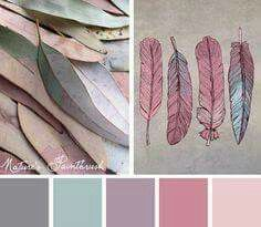 Sometimes nature offers up some truly unexpected colors on its palette. Try out this colorful and soft Nature's Paintbrush color scheme and find a more natural way to incorporate some pinks and greens Colour Pallette, Color Palate, Colour Schemes, Color Patterns, Best Colour Combinations, Colour Combo, Design Seeds, Colour Board, Color Stories