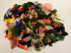 Bullseye 90 COE Confetti Multicolor MiniMix Glass Chips