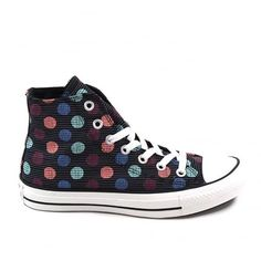 Available online now from Kular Fashion with free UK delivery and off your first online order. Ladies Converse, Kids Converse, Ladies Shoes, Converse Chuck Taylor All Star, Free Uk, Kids Wear, Trainers, High Top Sneakers, Polka Dots