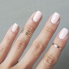 Light feminine and perfectly pink. Our kind of #ManiInspo #Manicure #Pink #Pastel