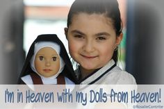 I'm in Heaven with my Dolls from Heaven~Review from @RosalieContrite  http://breadboxmedia.podbean.com/e/this-catholic-life-my-conversion-story-part-1-dolls-from-heaven-listener-feedback/ …