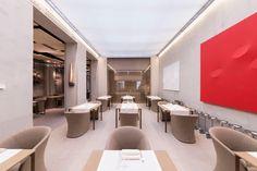 LARTE Ristorante, Via Manzoni, 5, Milano Conference Room, Table, Hospitality, Furniture, Restaurants, Design, Home Decor, Decoration Home, Room Decor