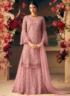 Mohini Fashion Glamour 54005 colors Designer Net Heavy Embroidery Plazzo Salwar Kameez Party Wedding Wear Muslim Bride Collection Sharara Dress Singles Pieces Wholesale Supplier on Company rate from Surat - Full Set Price - INR Pakistani Bridal, Pakistani Dresses, Indian Dresses, Indian Outfits, Pakistani Suits, Indian Wedding Gowns, Walima Dress, Western Dresses, Punjabi Suits