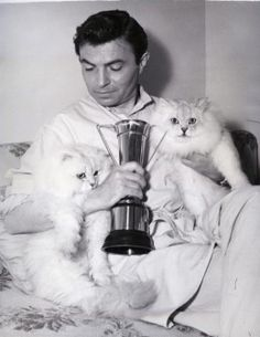James Mason - Celebrity Snapshots vol.1 - Cats and Celebs