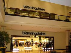 Bloomingdale's---My favorite Store to Shop in at King of Prussia Mall