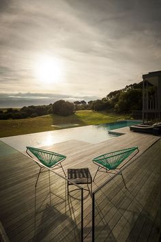 Fingal Residence By Jam Architecture in Victoria Australia Acapulco chair