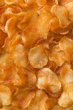 Microwave Homemade Potato Chips,