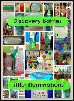 TONS of great discovery bottle ideas!