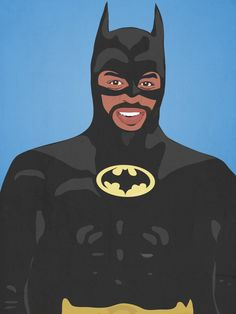 LeVar Burton as Batman | Bill Nye, LeVar Burton, And Other Childhood Favorites As Superheroes