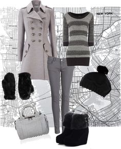 """winter outfit"" by twinkle0088 ❤ liked on Polyvore"